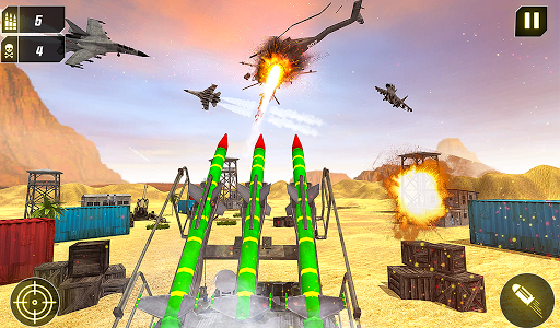 Military Missile Launcher:Sky Jet Warfare 1.0.8 screenshots 20