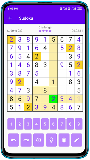 Sudoku - Free Sudoku Puzzles, Number Puzzle Game android2mod screenshots 6