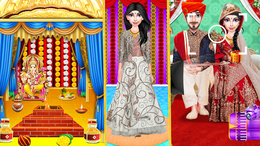 Indian Wedding Girl - Makeup Dressup Girls Game 1.0.3 screenshots 10