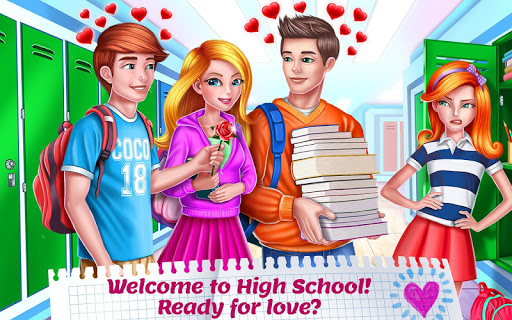 High School Crush - First Love  screenshots 1