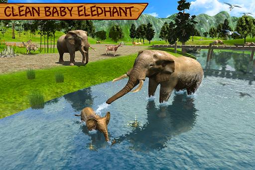 Wild Elephant Family Simulator apkpoly screenshots 16