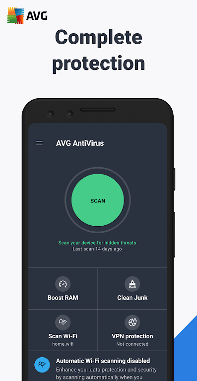 AVG AntiVirus 2021 - Free Mobile Security poster 0
