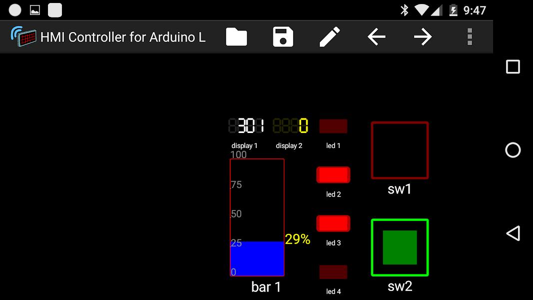 HMI Controller for Arduino L