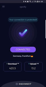 Free VPN – unlimited secure hotspot proxy – vpnify MOD (Pro) 1