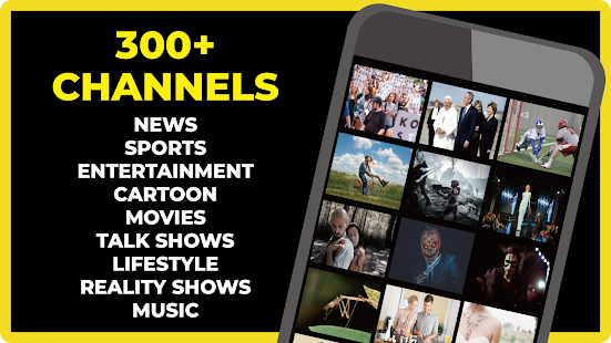 FREECABLE TV App: Free TV Shows, Free Movies, News Screenshot