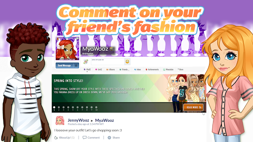 Woozworld - Virtual Chat & Party With Friends  screenshots 6