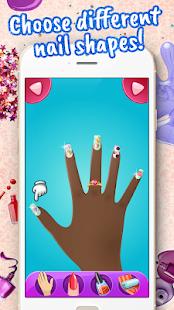 Nail Salon - Design Art Manicure Game 1.4 Screenshots 4