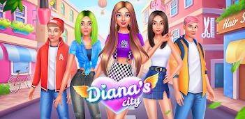 Jugar a Diana's city - moda y belleza gratis en la PC, así es como funciona!