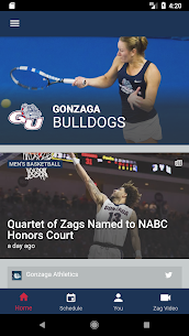 Gonzaga Athletics  Apps For Pc (Windows & Mac) | How To Install Using Nox App Player 1