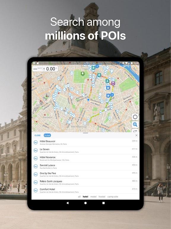 Guru Maps Pro - Offline Maps & Navigation  poster 10