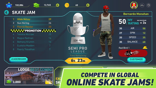 Skate Jam - Pro Skateboarding 1.2.6 screenshots 2