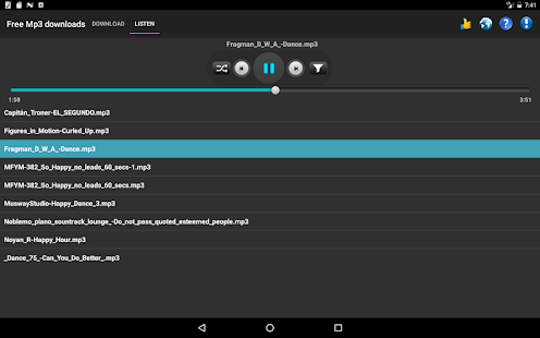 Free Mp3 Downloads 7.0.1 Screenshots 10