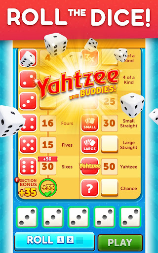 YAHTZEEu00ae With Buddies Dice Game 7.6.3 screenshots 9