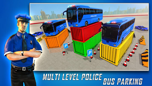 Police Bus Parking Game 3D - Police Bus Games 2019  screenshots 4