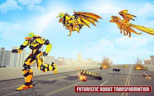Dragon Robot Car Game u2013 Robot transforming games apkpoly screenshots 3