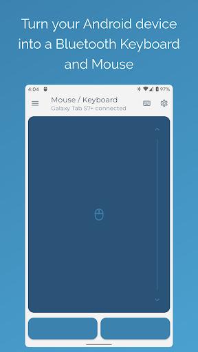 Foto do Serverless Bluetooth Keyboard & Mouse Premium