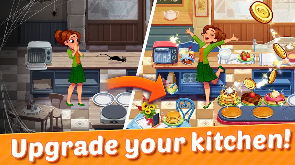 Delicious World - Cooking Restaurant Game poster 0