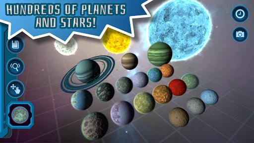 Pocket Galaxy - 3D Gravity Sandbox Space Game Free  Screenshots 3
