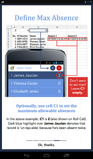 Attendance Roll Call For PC Windows (7, 8, 10, 10X) & Mac Computer Image Number- 28