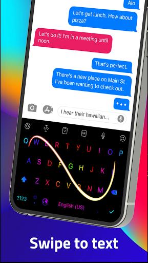 LED Keyboard - RGB Lighting Keyboard, Emojis, Font  Screenshots 14