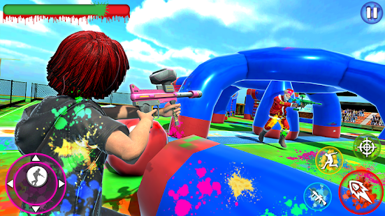 Color Shooting Paintball: Paintball Shooting Arena 7 APK + Мод (Unlimited money) за Android