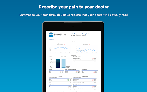 Manage My Pain: Track & Analyze Your Pain