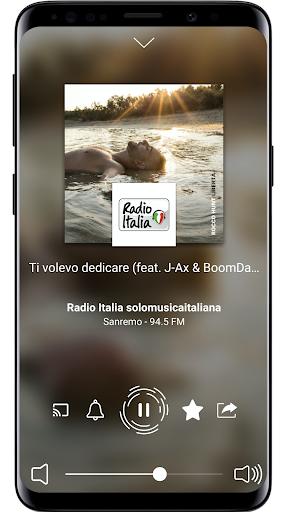 Radio Italia: Online Radio Streaming screenshots 2