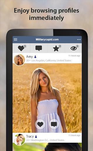 MilitaryCupid - Military Dating App 3.2.0.2662 Screenshots 10
