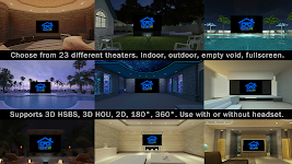 screenshot of Home Theater VR