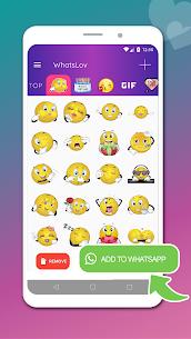WhatsLov: Love Emojis, Stickers & WAStickerapps 1