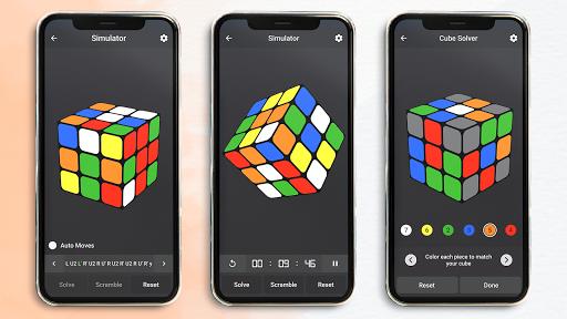 Rubik's Cube : Simulator, Cube Solver and Timer 1.0.4 screenshots 1