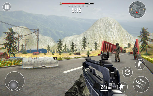 Gun Strike Fire: FPS Free Shooting Games 2021 1.2.1 screenshots 11