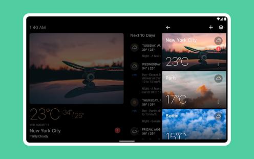 Today Weather - Weather Forecast, Widget & Radar screenshots 10