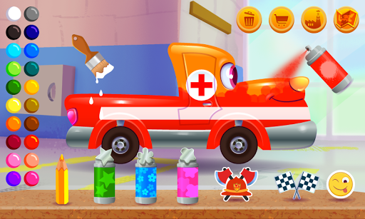 Funny Racing Cars  screenshots 3