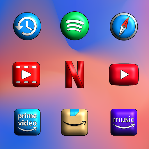 Pixly Limitless 3D - Icon Pack