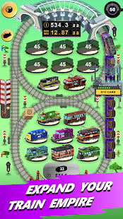 Train Merger - Idle Manager Tycoon Screenshot