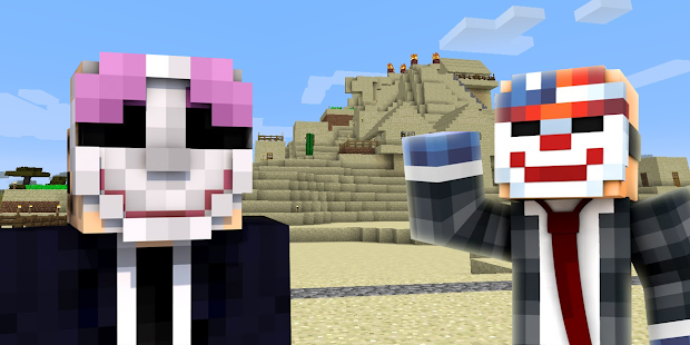 Payday 2 Skin for Minecraft