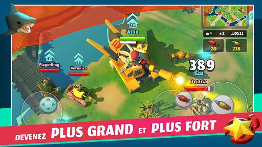 PvPets: Tank Battle Royale APK MOD – Monnaie Illimitées (Astuce) screenshots hack proof 2