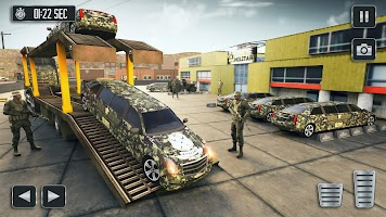 Army Vehicle Cargo Transport Simulator 3D