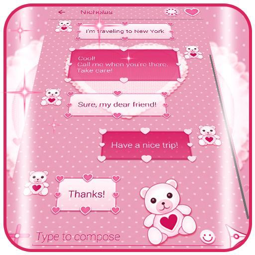 Mga Tema ng Pink na SMS