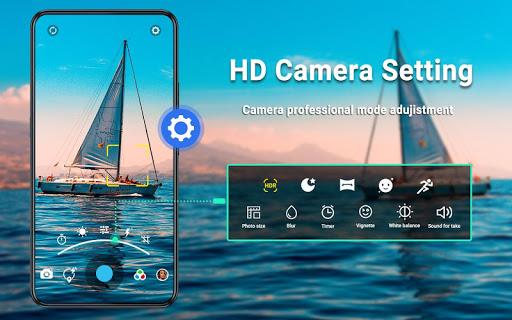 HD Camera - Video, Panorama, Filters, Photo Editor 1.7.6 Screenshots 8