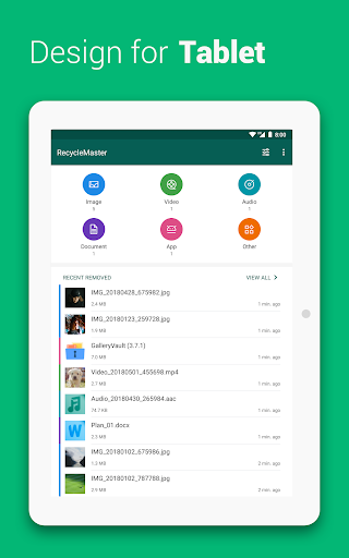 RecycleMaster: RecycleBin, File Recovery, Undelete  Screenshots 7