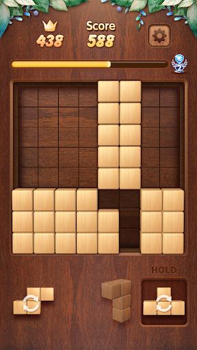 Wood Block Puzzle 3D - Classic Wood Block Puzzle  screenshots 1