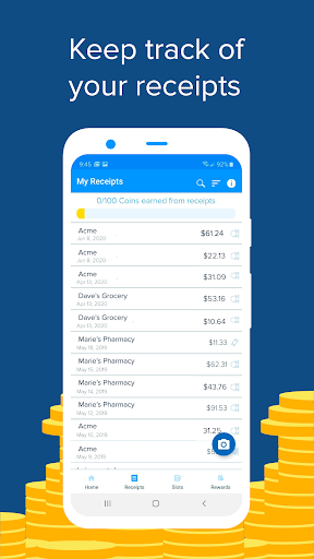 Receipt Hog: Earn Cash Back for Sharing Receipts modavailable screenshots 5