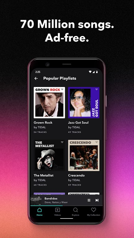 TIDAL Music - Hifi Songs, Playlists, & Videos  poster 1