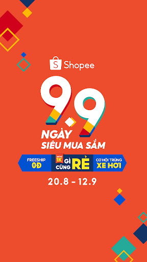 Shopee 9.9 Ngày Siêu Mua Sắm screenshots 2