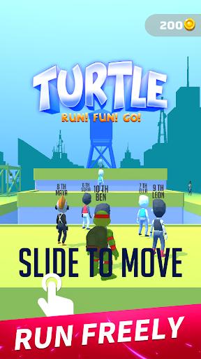 turtle parkour race 3d - free screenshot 1