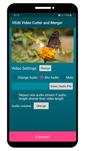 VEdit Video Cutter and Merger android2mod screenshots 23