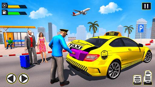 City Taxi Driving Simulator: Taxi Games 2020 apktram screenshots 1