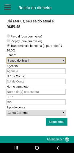roleta do dinheiro - desabilitado. screenshot 2
